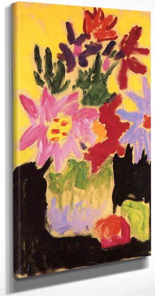 Floral Still Life  By Alexei Jawlensky