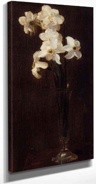 Flowers By Henri Fantin Latour