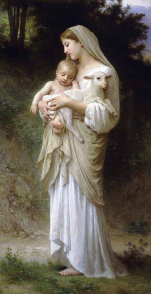 Innocence  By William Bouguereau