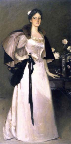 Miss Mary Burrell By Sir John Lavery, R.A. By Sir John Lavery, R.A.
