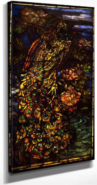 Peacock Window By John La Farge