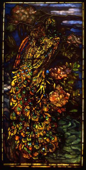 Peacock Window By John La Farge By John La Farge