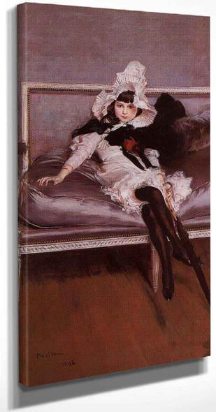 Portrait Of Giovinetta Errazuriz By Giovanni Boldini