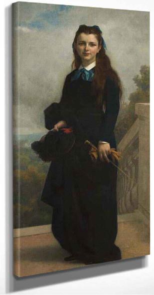 Portrait Of Miss Cornelia Lyman Warren By Alexandre Cabanel