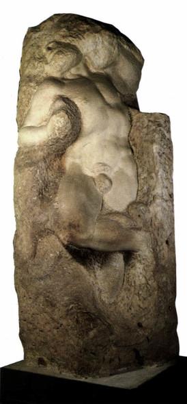Slave (Awakening) By Michelangelo Buonarroti(Italian,  ) By Michelangelo Buonarroti(Italian,  )