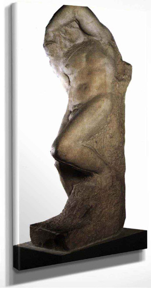 Slave (Young) By Michelangelo Buonarroti(Italian, ) By Michelangelo Buonarroti(Italian, )