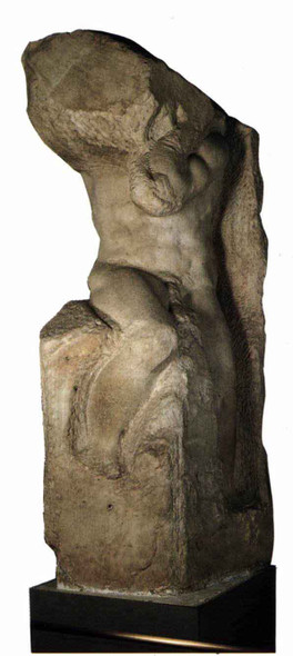 Slave  By Michelangelo Buonarroti By Michelangelo Buonarroti