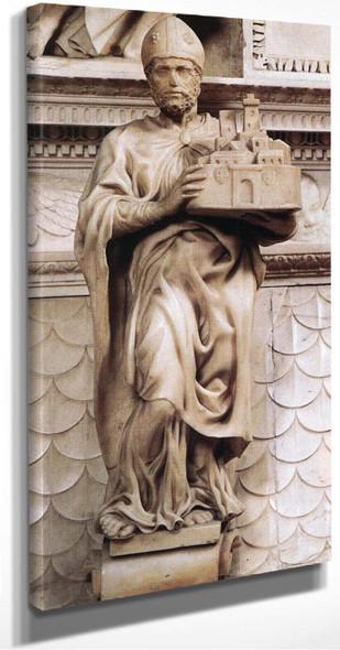 St Petronius By Michelangelo Buonarroti