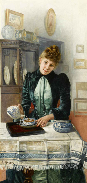 Tea Time By Francois Brunery