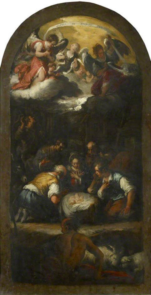 The Adoration Of The Shepherds By Bernardo Strozzi