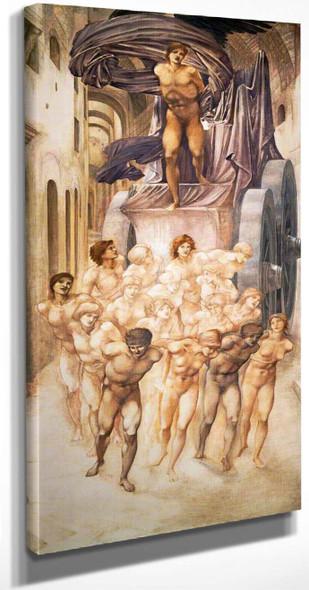 The Car Of Love By Sir Edward Burne Jones