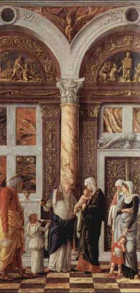 The Circumsicion Of Jesus By Andrea Mantegna