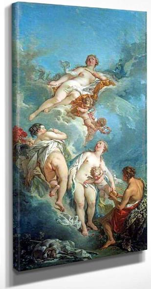 The Judgment Of Paris By Francois Boucher