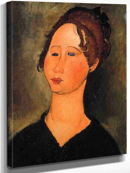 Burgundian Woman By Amedeo Modigliani