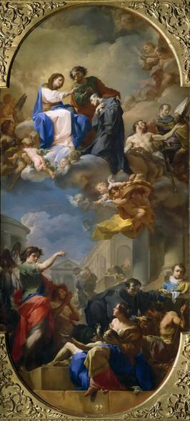 The Triumph Of Saint John Of God By Corrado Giaquinto By Corrado Giaquinto