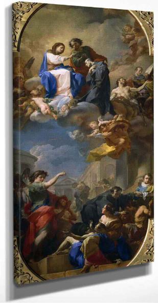 The Triumph Of Saint John Of God By Corrado Giaquinto