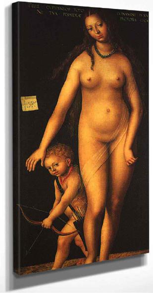 Venus And Cupid By Lucas Cranach The Elder