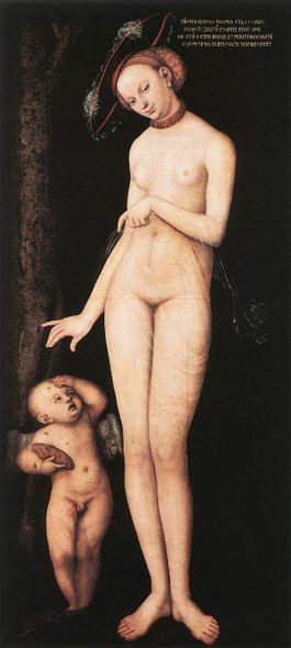 Venus And Cupid By Lucas Cranach The Elder By Lucas Cranach The Elder