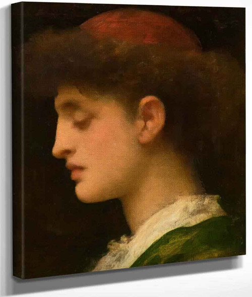 A Florentine Student By Sir Frederic Lord Leighton