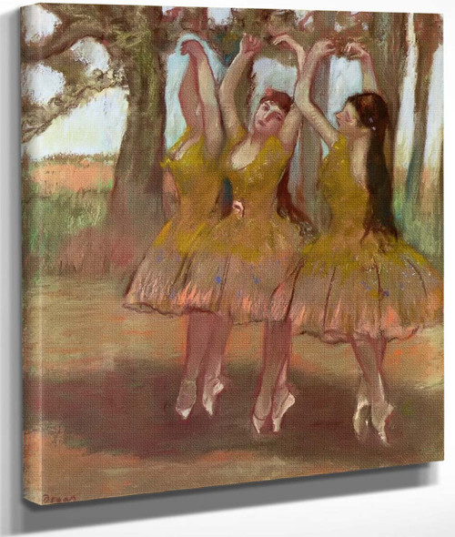 A Grecian Dance By Edgar Degas By Edgar Degas