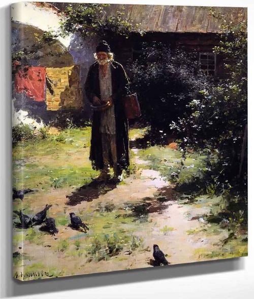 A Monk By Abram Efimovich Arkhipov