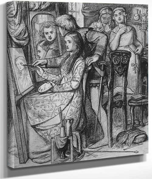 A Parable Of Love By Dante Gabriel Rossetti