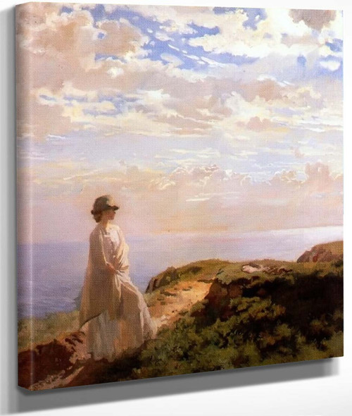 A Summer Afternoon By Sir William Orpen By Sir William Orpen
