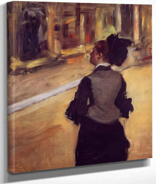 A Visit To The Museum By Edgar Degas By Edgar Degas