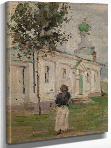 By The Church By Isaak Brodsky
