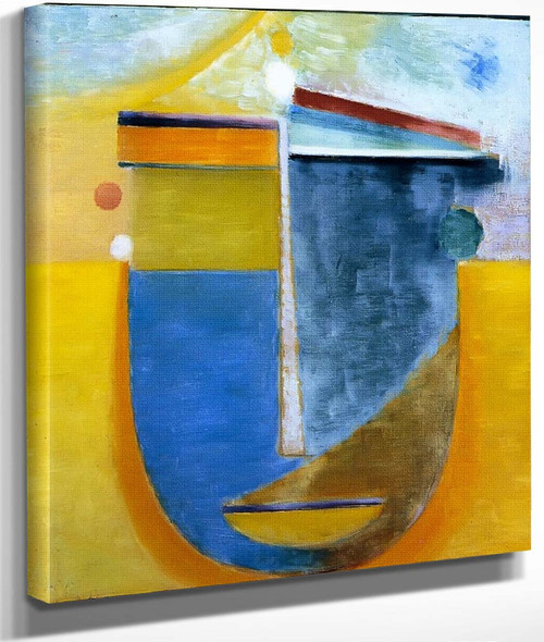 Abstract Head Composition No. 'China' By Alexei Jawlensky By Alexei Jawlensky