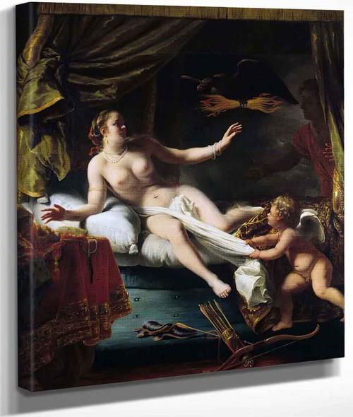 Aegina Awaits The Arrival Of Zeus By Ferdinand Bol