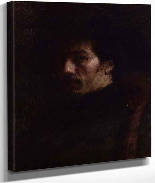 Alphonse Legros By Henri Fantin Latour By Henri Fantin Latour