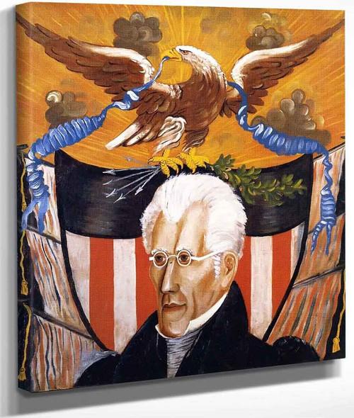 Andrew Jackson By Edward Hicks
