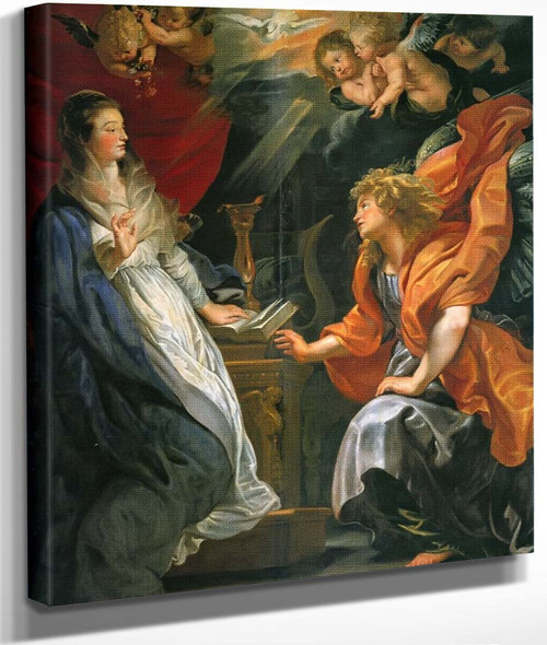 Annunciation By Peter Paul Rubens By Peter Paul Rubens