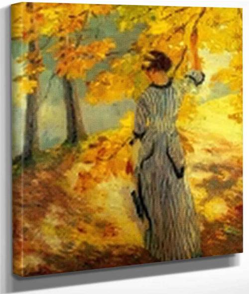 Autumn Sun By Edward Cucuel By Edward Cucuel