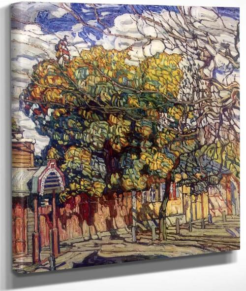 Autumn By Abraham A. Manievich