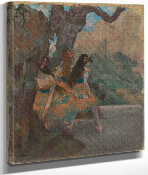 Ballet Dancers By Edgar Degas By Edgar Degas