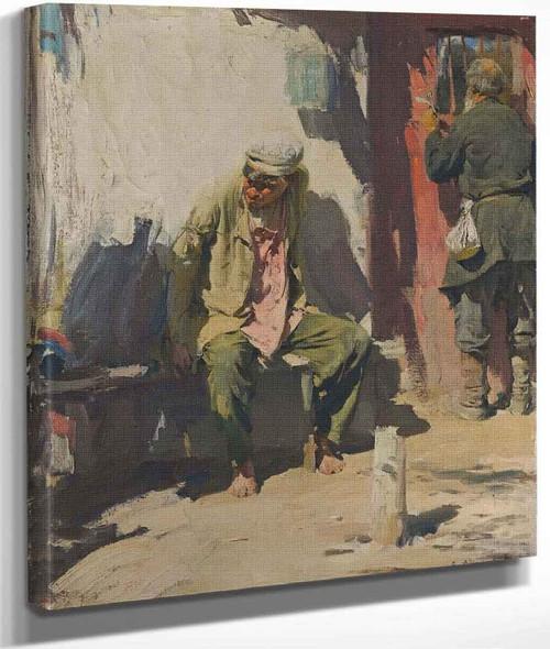 Beggars By Abram Efimovich Arkhipov