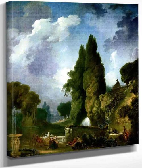 Blindman's Buff By Jean Honore Fragonard By Jean Honore Fragonard