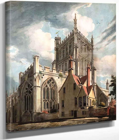 Bristol Cathedral From College Green By Joseph Mallord William Turner