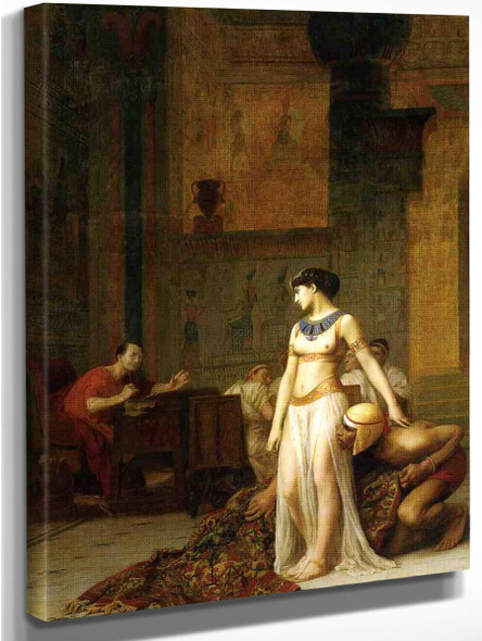 Caesar And Cleopatra By Jean Leon Gerome