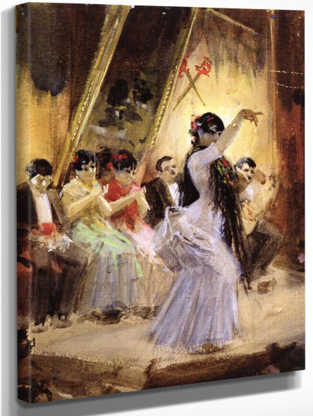 Cafe Cantante In Madrid By Anders Zorn