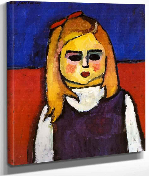 Child By Alexei Jawlensky By Alexei Jawlensky