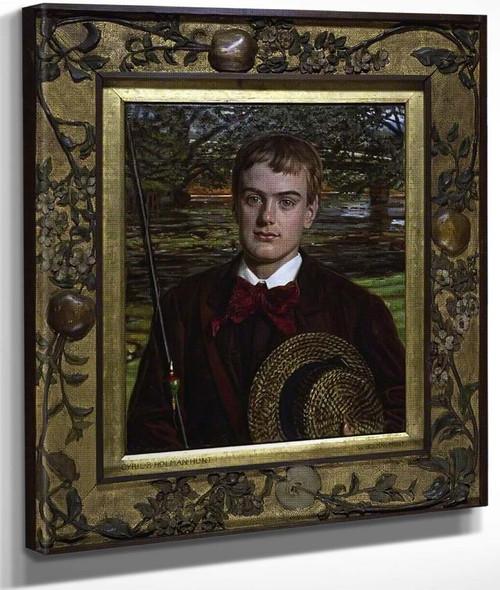 Cyril Benoni Holman Hunt By William Holman Hunt