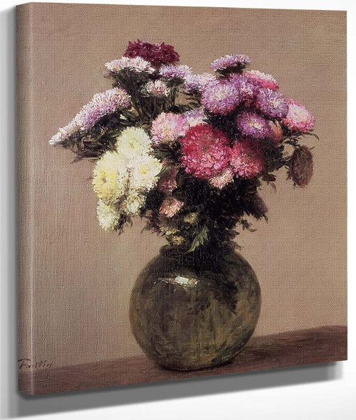 Daisies By Henri Fantin Latour By Henri Fantin Latour