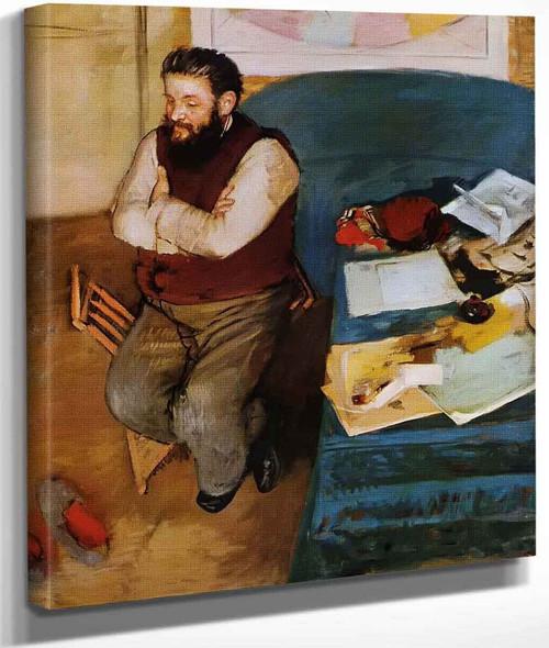 Diego Martelli By Edgar Degas By Edgar Degas