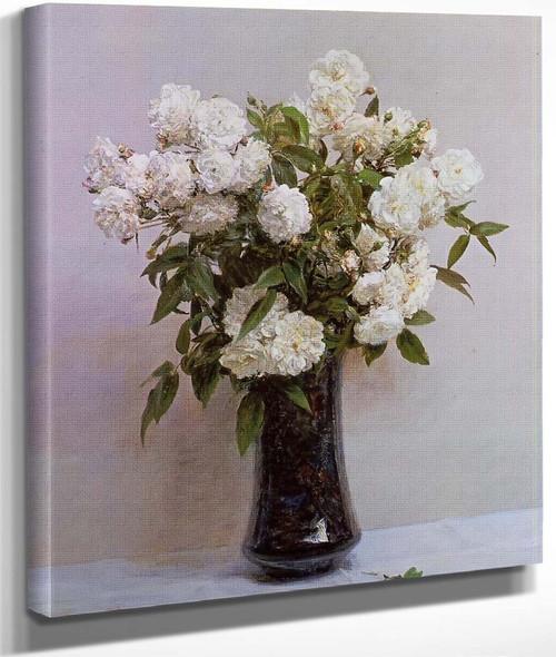 Fairy Roses By Henri Fantin Latour By Henri Fantin Latour