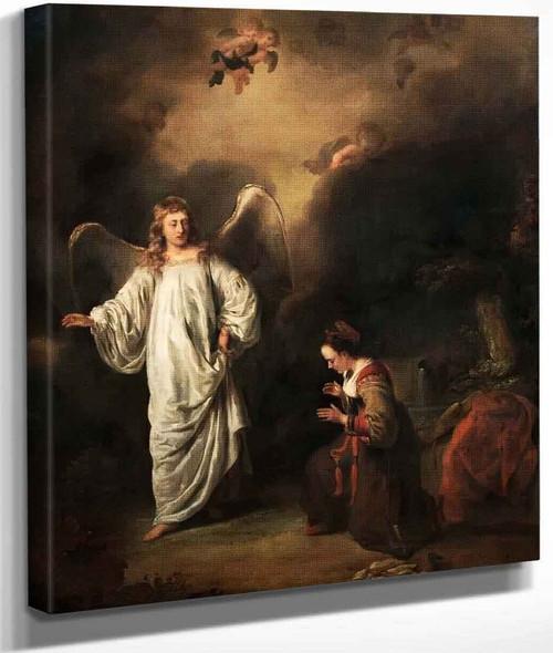 Hagar Meeting The Angel In The Desert By Ferdinand Bol