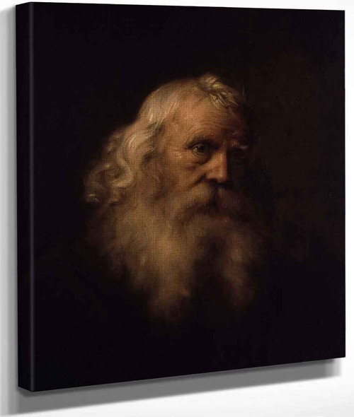 Head Of An Old Man By Jan Lievens The Elder