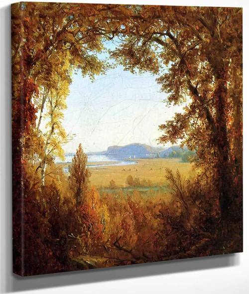 Hook Mountain On The Hudson River By Sanford Robinson Gifford By Sanford Robinson Gifford